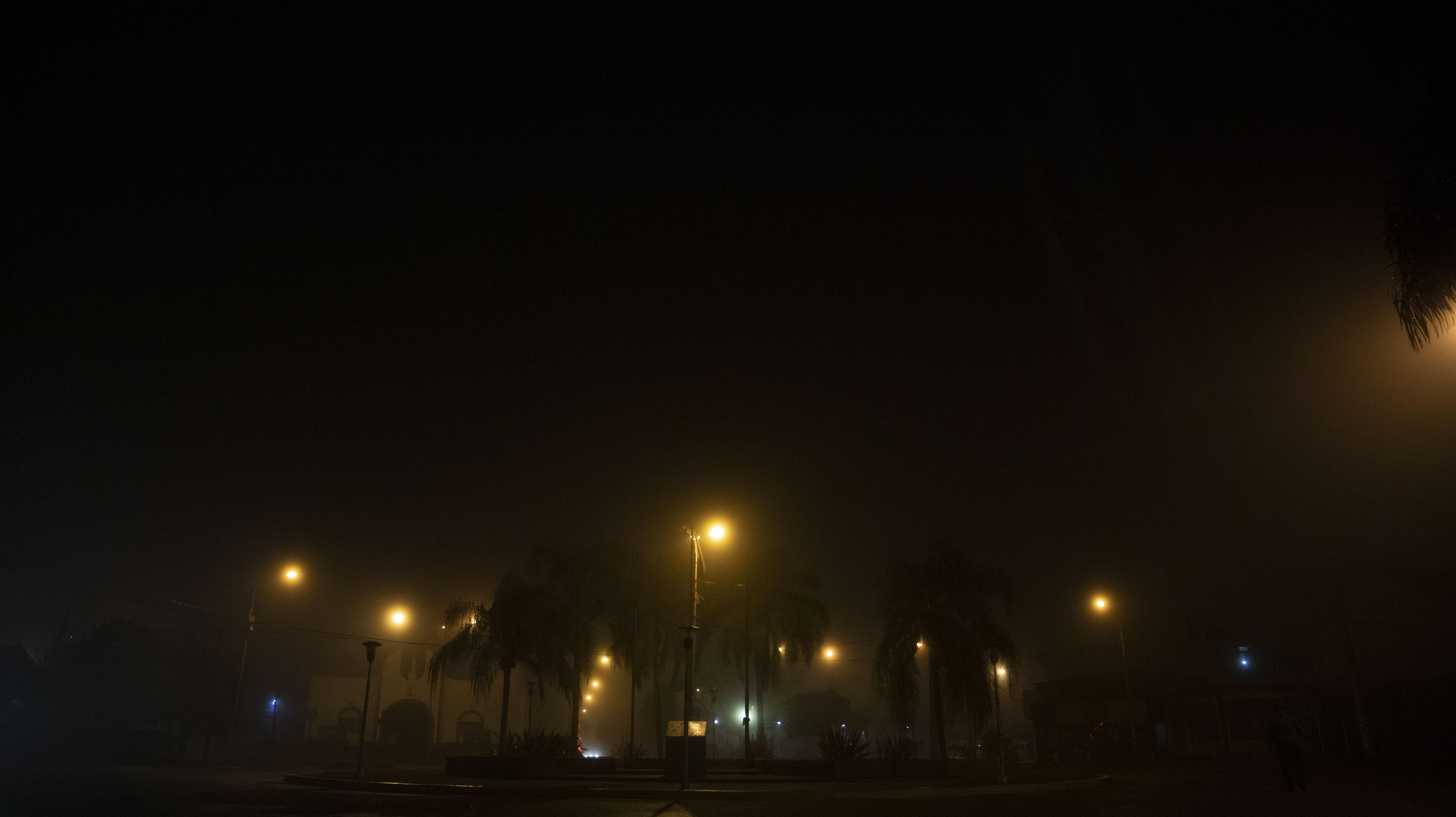La nieblas por radiación son las que generalmente desaparecen por la mañana.