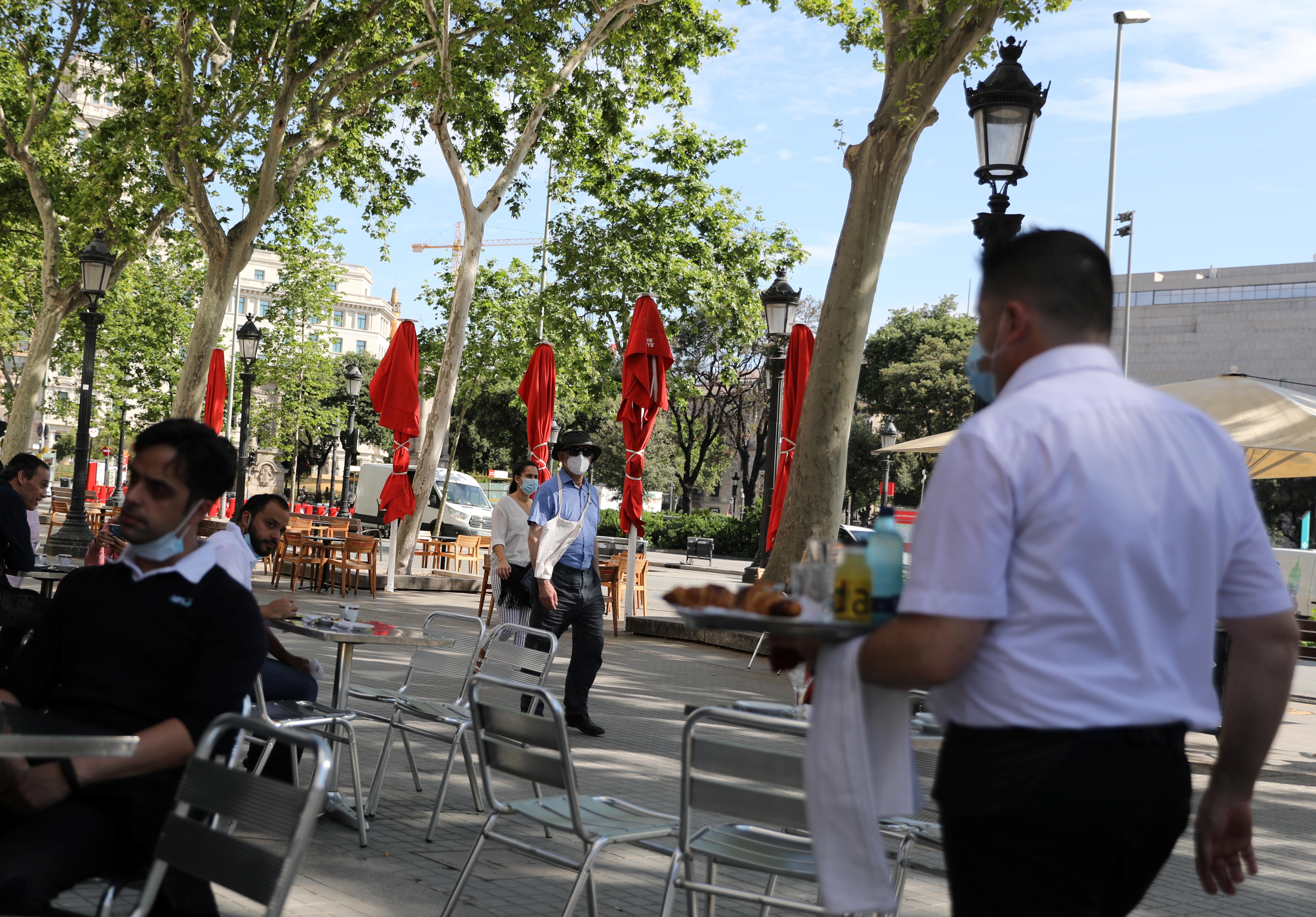 El bar Zurich en Plaza de Catalunya en Barcelona (REUTERS/Nacho Doce)