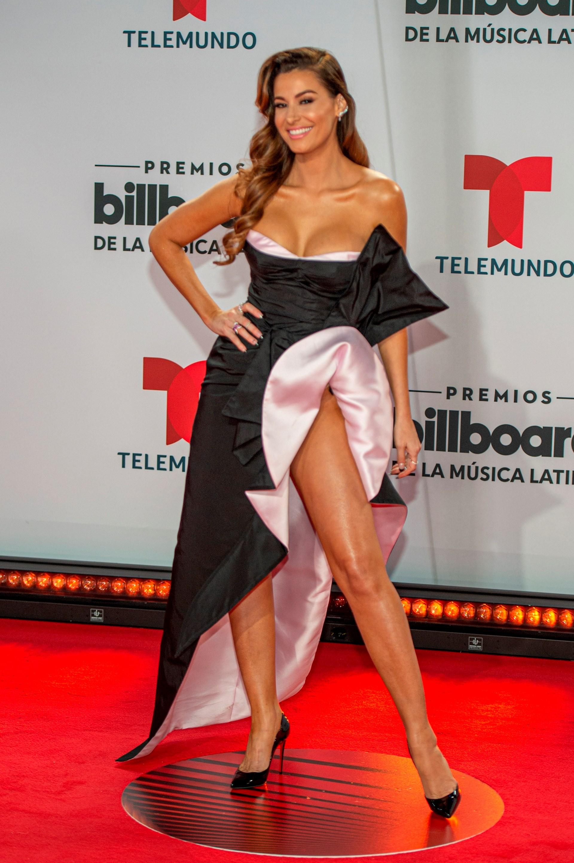 La presentadora y exreina de belleza nicaragüense Nastassja Bolívar (Foto: EFE/Giorgio Viera)