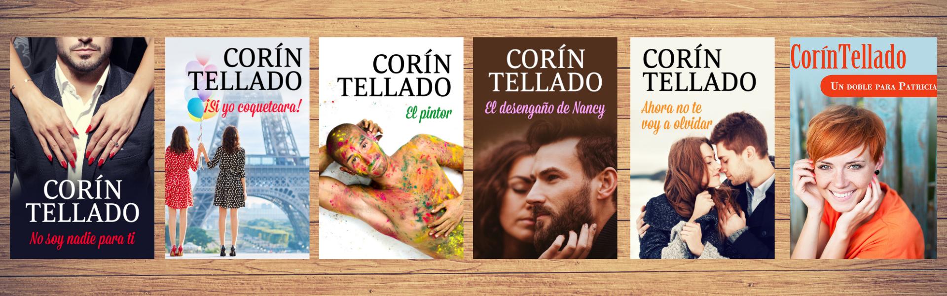 Algunas novelas de Corín Tellado editadas por Planeta