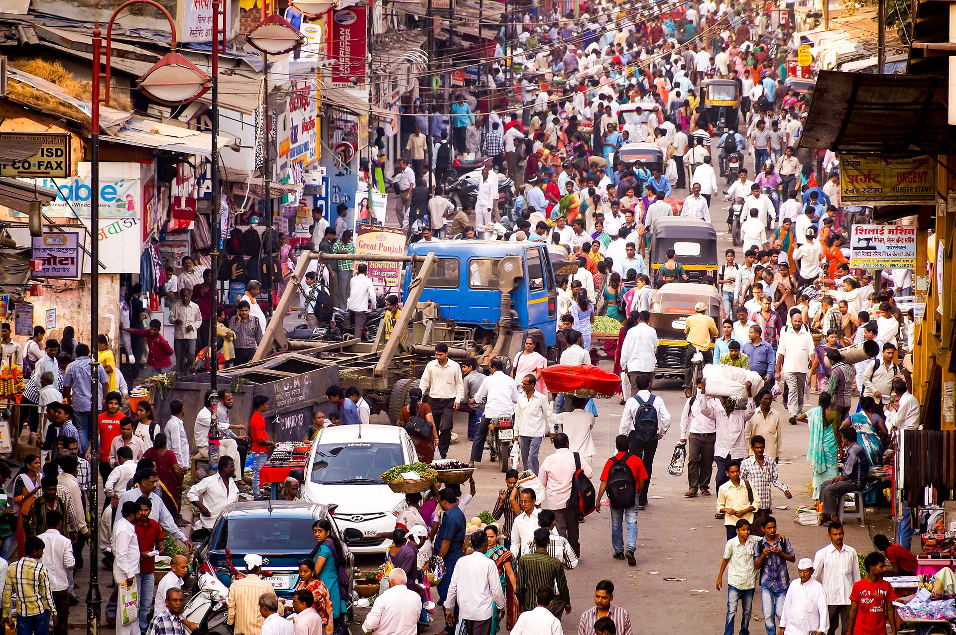 ANTES - Las estimaciones indican que India pasaría a China como la nación más poblada del mundo en los próximos años (Shutterstock)