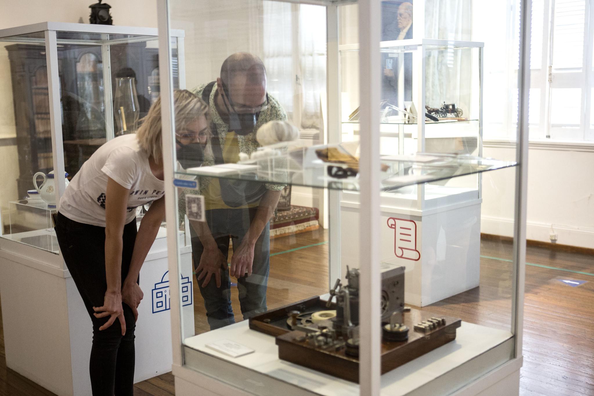 Todas las obras del establecimiento volvieron a estar en exposición, después de varios meses de cuarentena (Ministerio de Cultura)