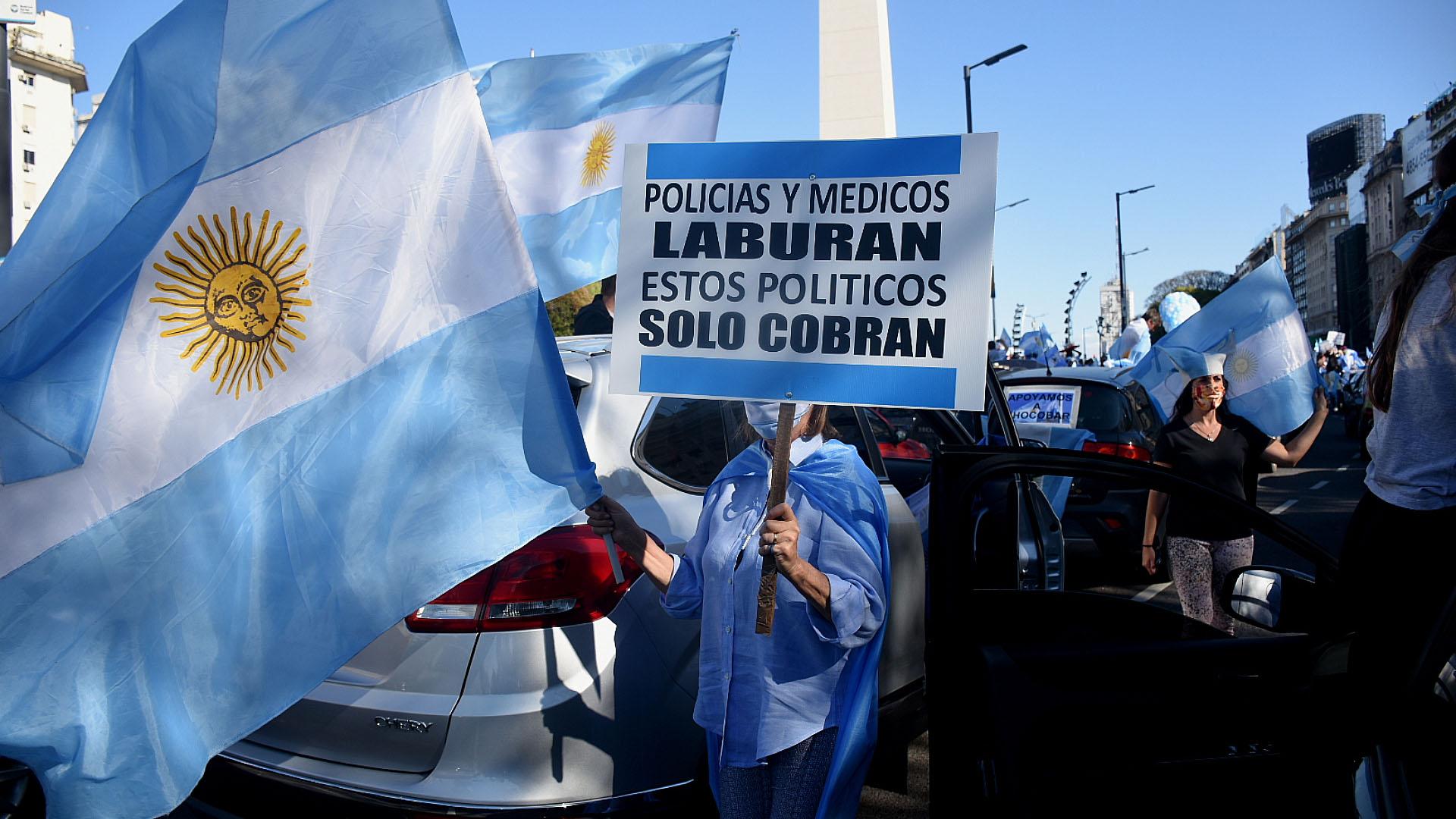 Las otras manifestaciones fueron el 20 de junio, el 9 de julio, el 1°, 17 y el 26 de agosto y el 13 y el 19 de septiembre