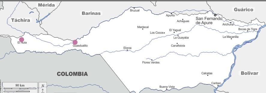 El extenso municipio Páez