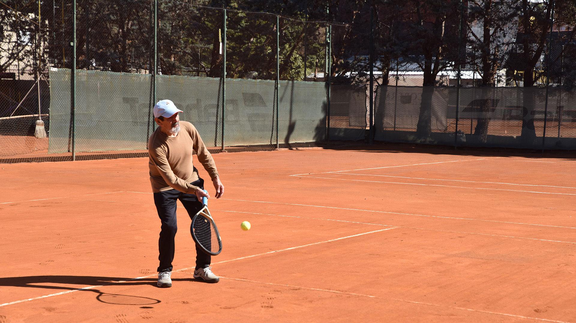 Las autoridades porteñas dieron el visto bueno para el regreso del tenis en todo el ámbito de la Ciudad