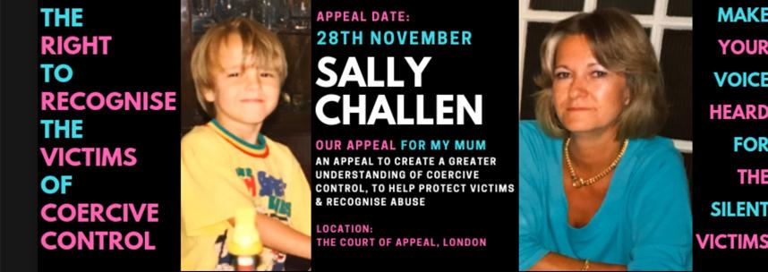 Luego de ser condenada por homicidio, Sally Challen fue dejada en libertad porque se la consideró víctima de control coercitivo.