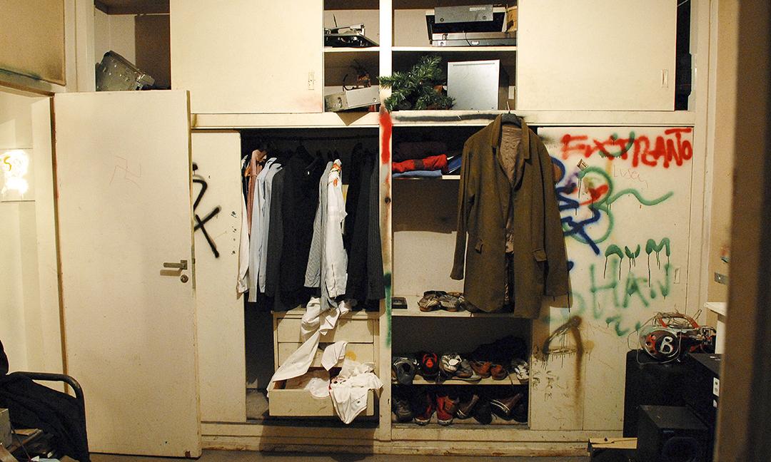 La casa de Charly en su época trash: la primera década del siglo XXI. Sobre su internación señaló: