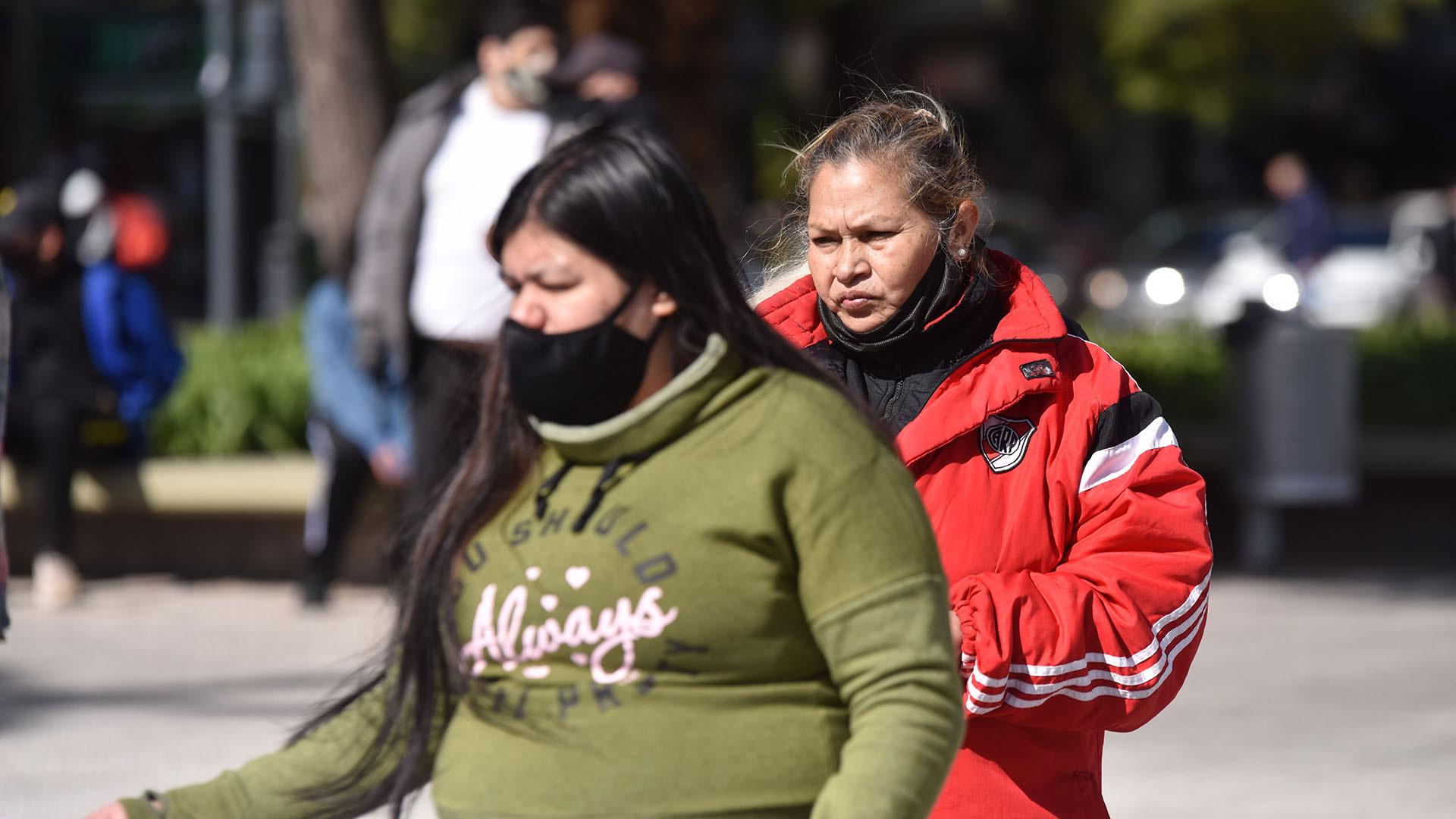 El incumplimiento del uso del tapabocas fue uno de los hechos que más se repitió entre los manifestantes