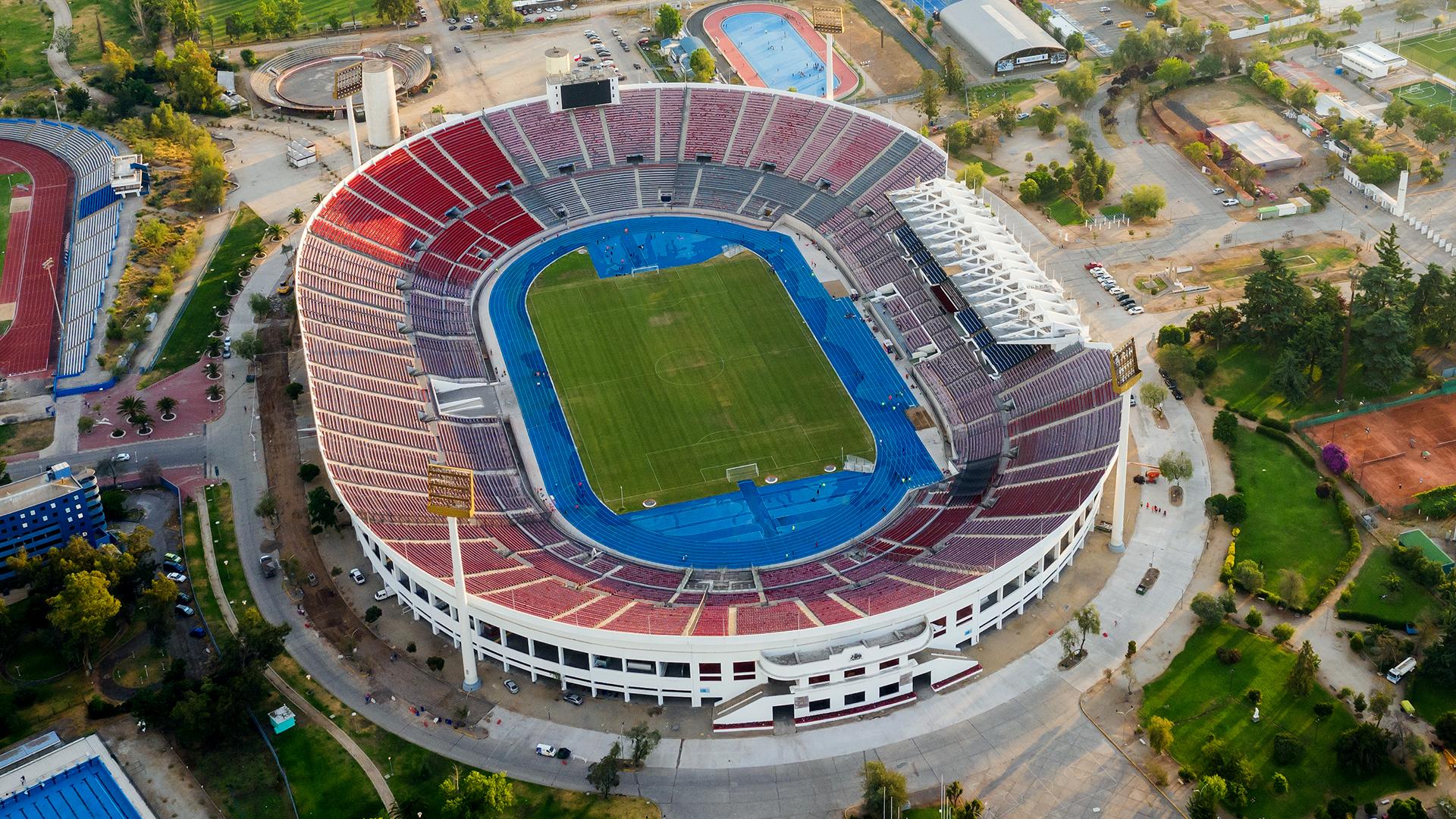 PUESTO 5 - 219 PARTIDOS / Estadio Nacional de Santiago, Chile