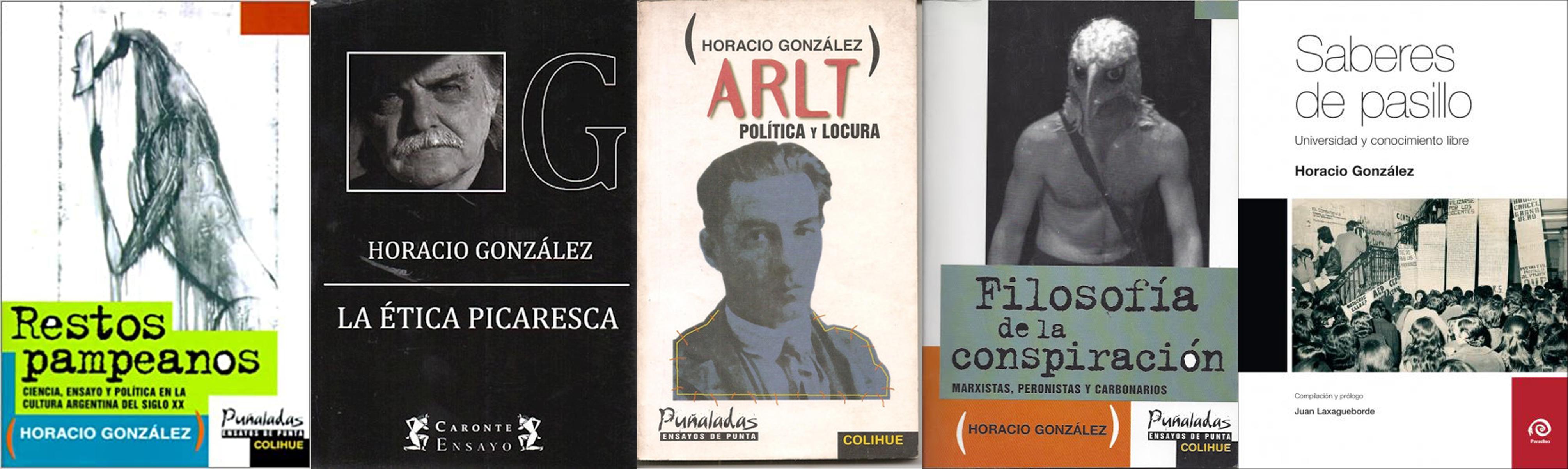 Algunos títulos de González