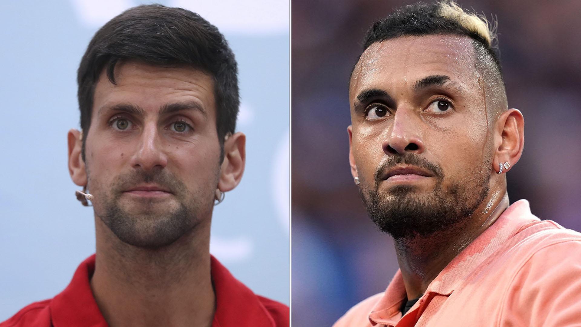 La Polemica Frase De Nick Kyrgios Contra Novak Djokovic Luego De Que El Serbio Fuera Descalificado Del Us Open Infobae