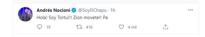 Nocioni non era da meno e ha anche menzionato il debutto dell'Argentina all'Oklahoma City Thunder (Twitter)