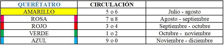Las autoridades de Querétaro informaron que estarán exentos de verificar el primer semestre 2020 (Captura de pantalla: CAMe)