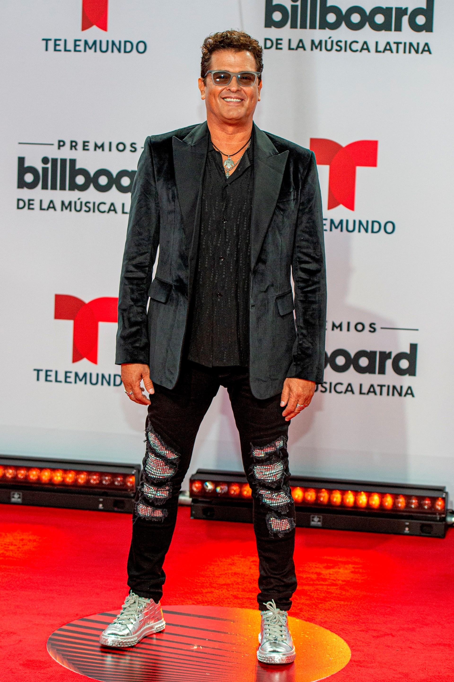 El cantante colombiano Carlos Vives (Foto: EFE/Giorgio Viera)