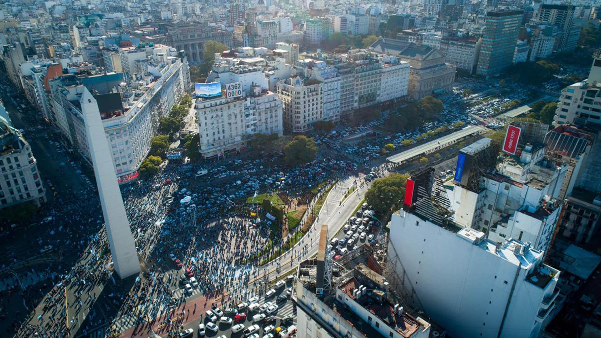 La protesta contra el Gobierno en imágenes - Infobae