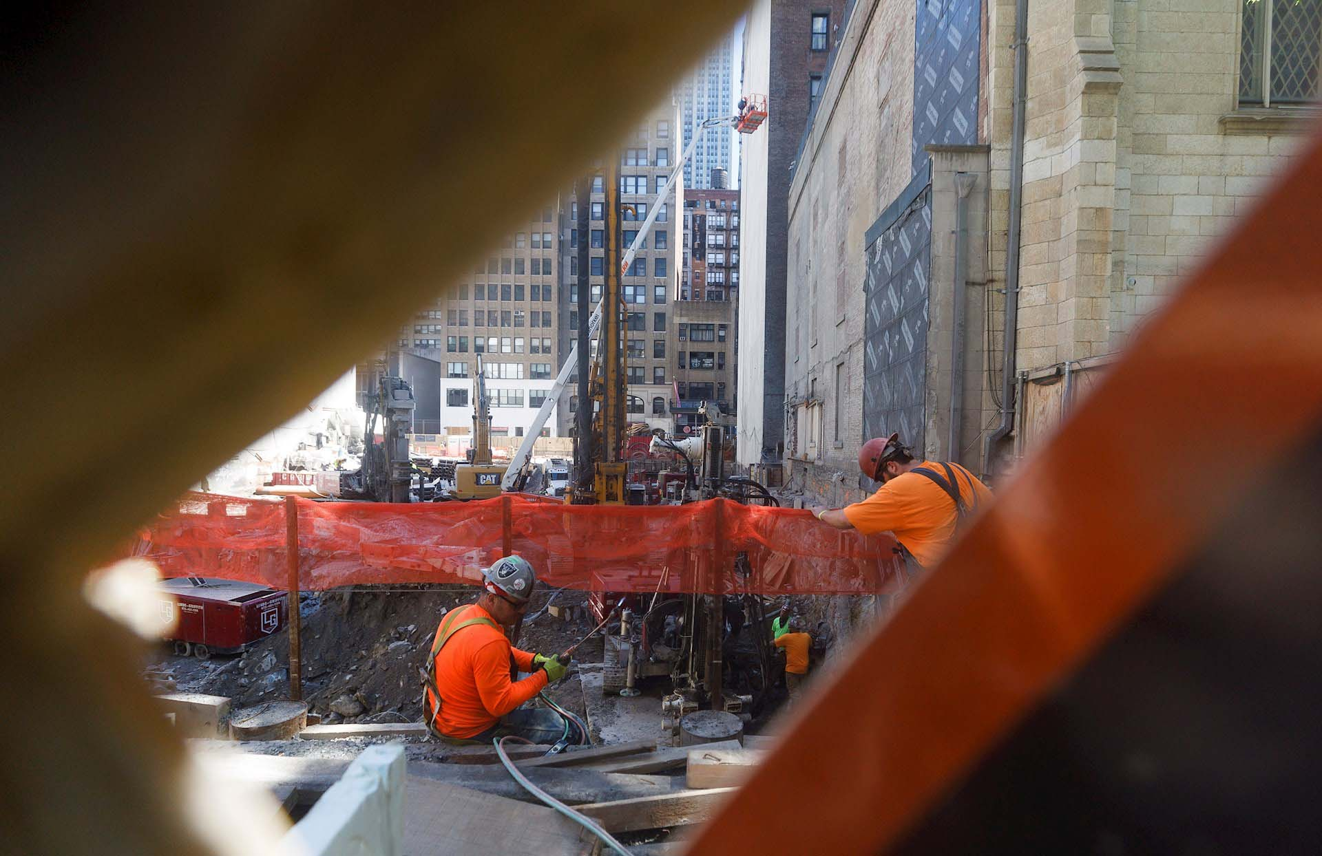 Otra obra en construcción en Manhattan