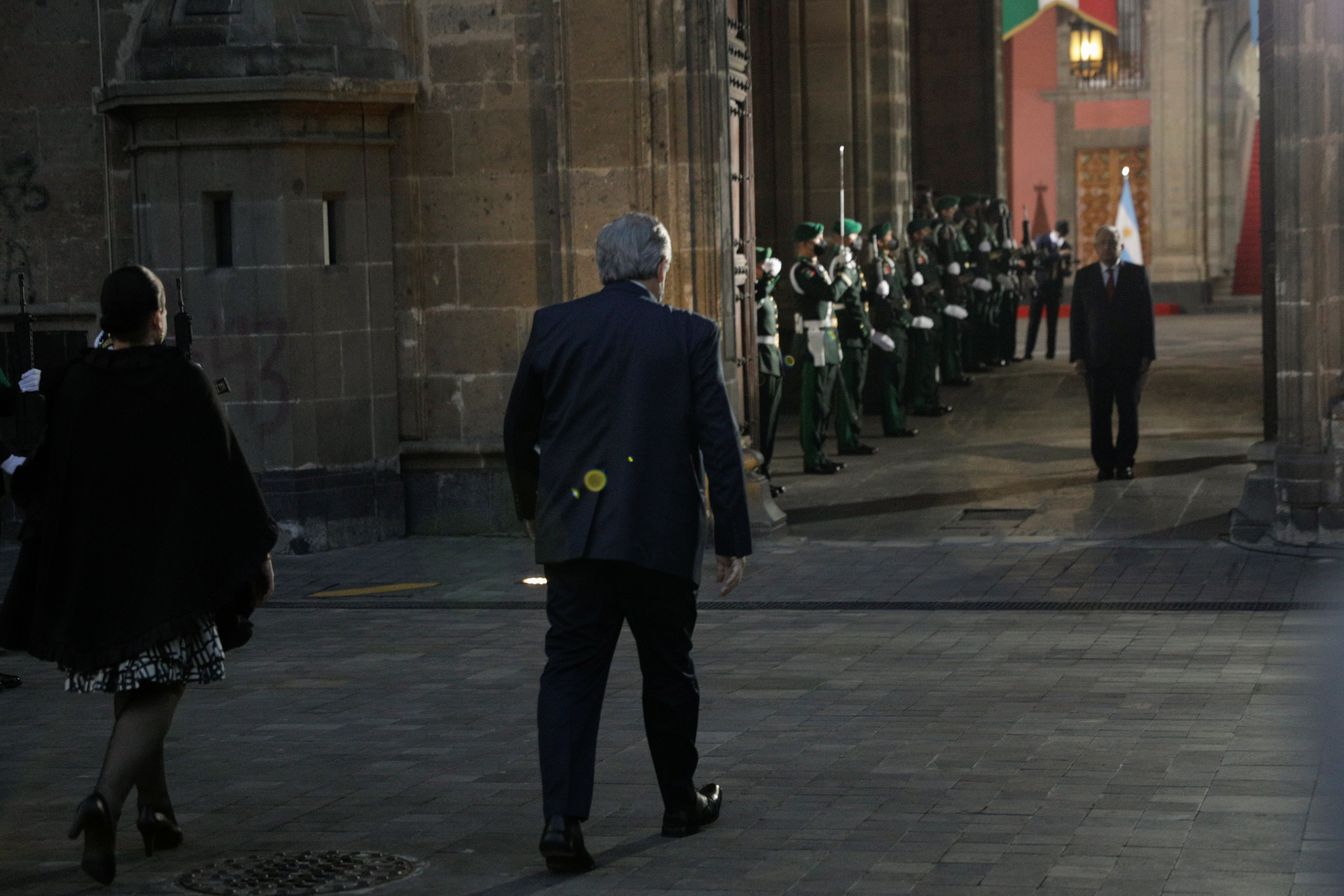 Palacio Nacional, Ciudad de México, 23 de febrero de 2021.