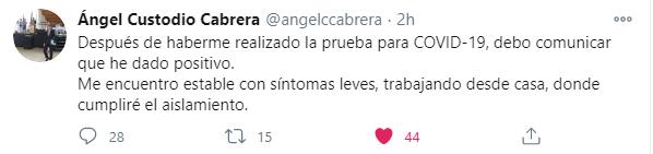 Tweet ministro de Trabajo