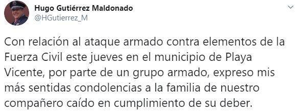 (Foto: Twitter/HGutierrez_M)