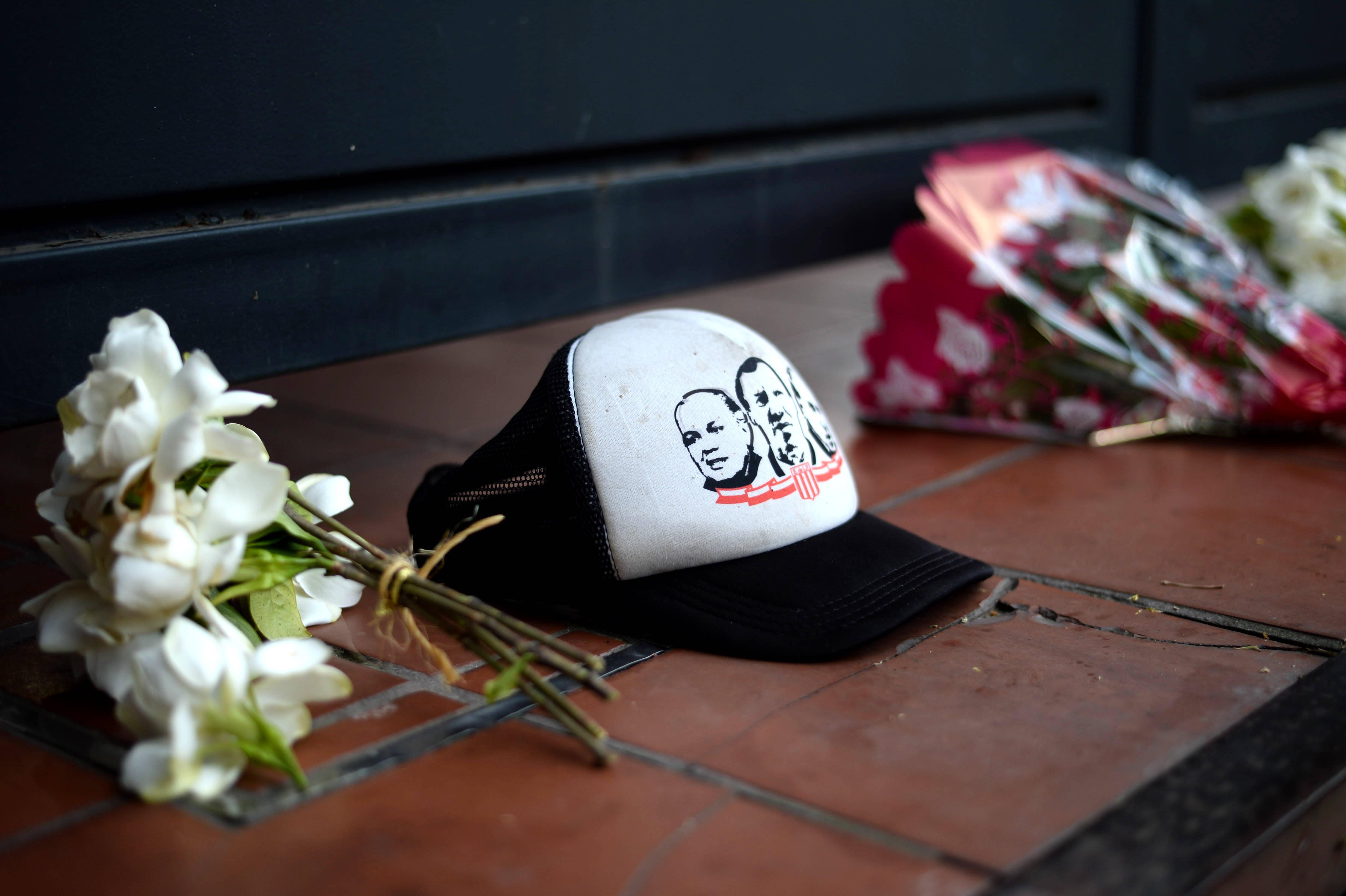 Las muestras de pesar se dieron en el barrio de Tolosa donde vivía Sabella