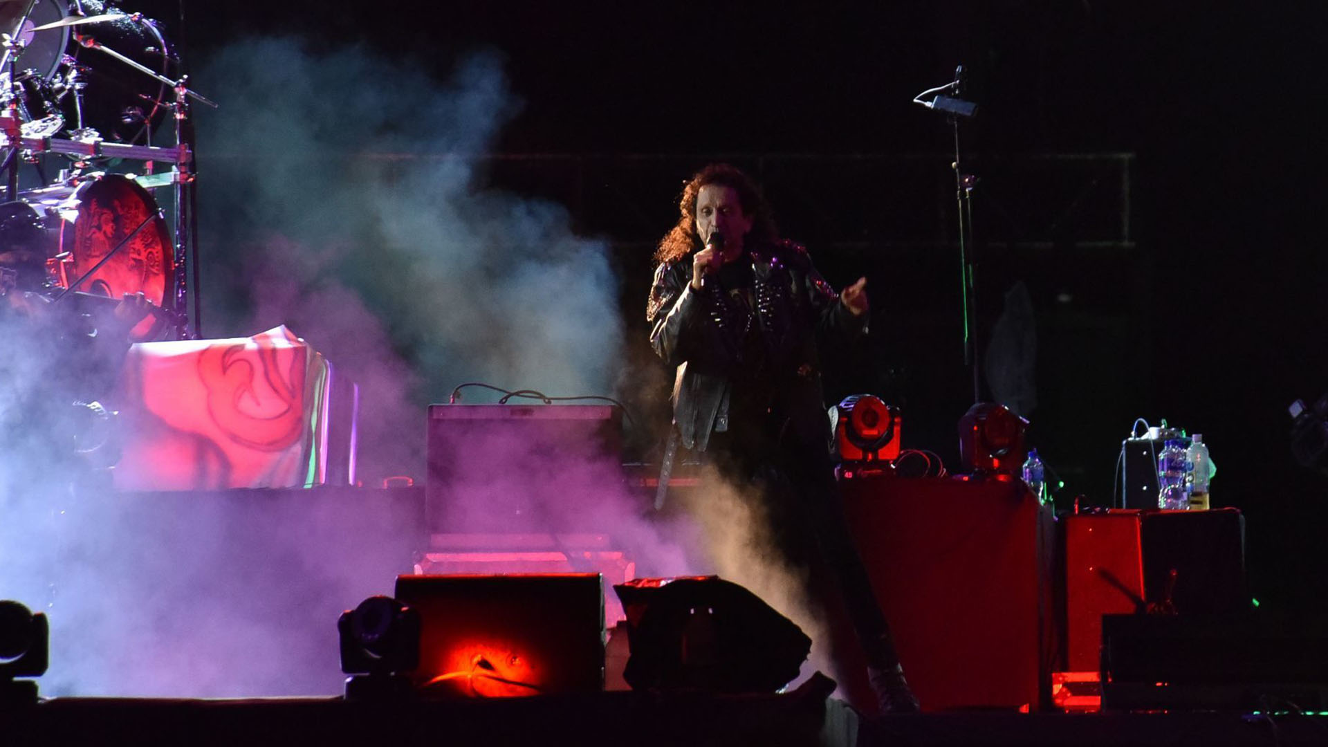 Los rockeros interpretaron sus mas grandes éxitos para el delete de la audiencia (Foto: Cuartoscuro)