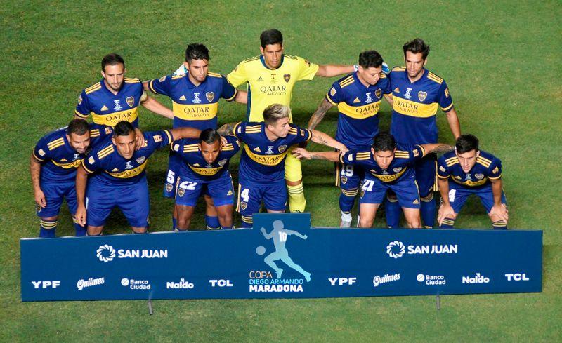 Boca Juniors se consagró campeón del fútbol argentino al vencer 5-3 en la tanda de penales a Banfield y obtener la Copa Diego Maradona, nombrada así en homenaje al ídolo fallecido a fines de 2020