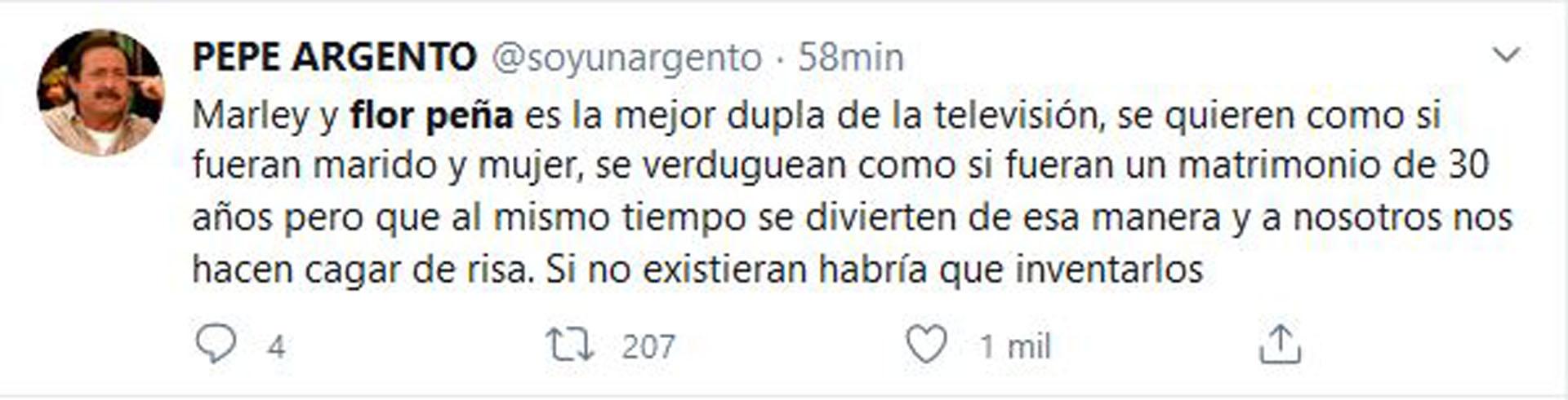 """Algunos de los comentarios sobre la participación de Florencia Peña en """"Por el mundo"""" y su espectacular casa (Fotos: Twitter)"""