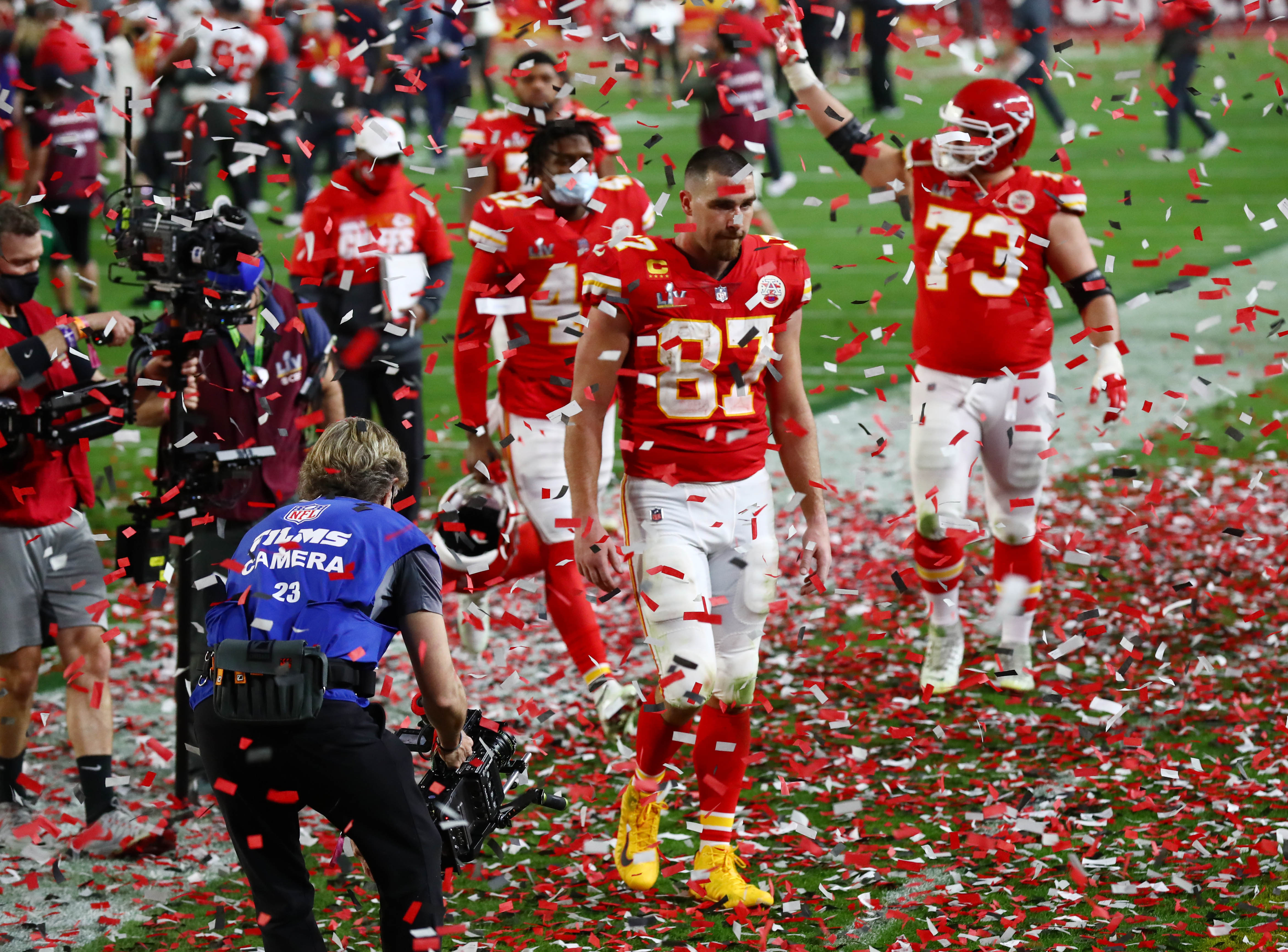 Los Chiefs se vieron superados en todo momento y así se marcharon