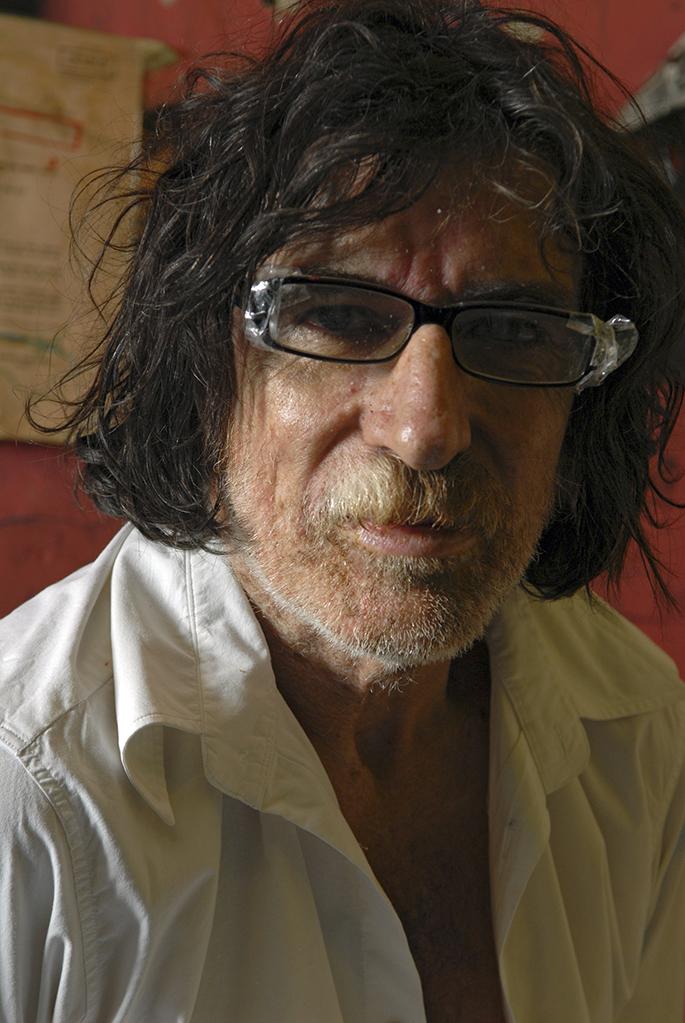 Charly García, genio y figura. Después de grabar Rock'n'roll yo en 2003 no volvió a editar nuevo material por seis años