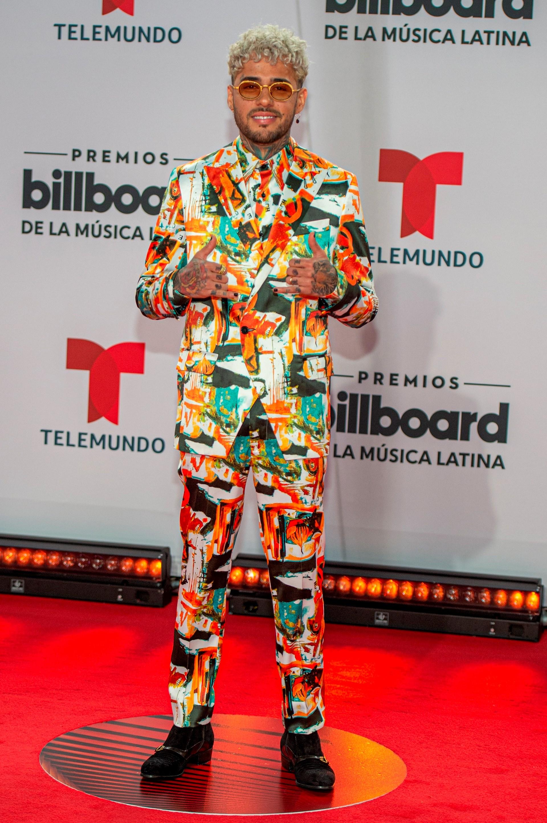 El cantante estadounidense de orígenes puertorriqueños Dalex (Foto: EFE/Giorgio Viera)