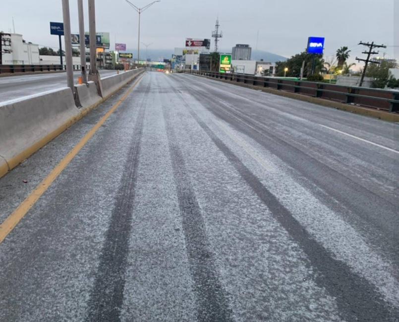 Monterrey, 15 de febrero de 2021. (Foto: Protección Civil Monterrey)