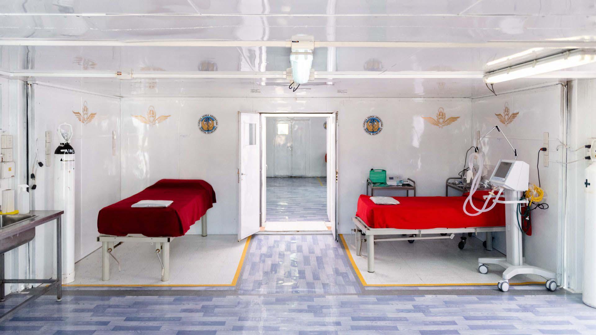 """Inauguración del centro de aislamiento y atención médica 'Bahía Esperanza' (Caambe) forma parte de las acciones desarrolladas en todo el país por las Fuerzas Armadas en el marco del operativo """"General Manuel Belgrano"""" ante la emergencia por Covid-19"""