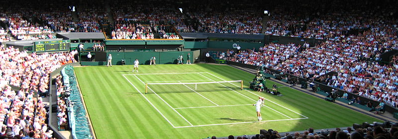Wimbledon Centre Court by Spiralz from England