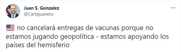 Juan González, reaccionó de esta forma a la denuncia hecha por el Ministerio de Salud de Paraguay