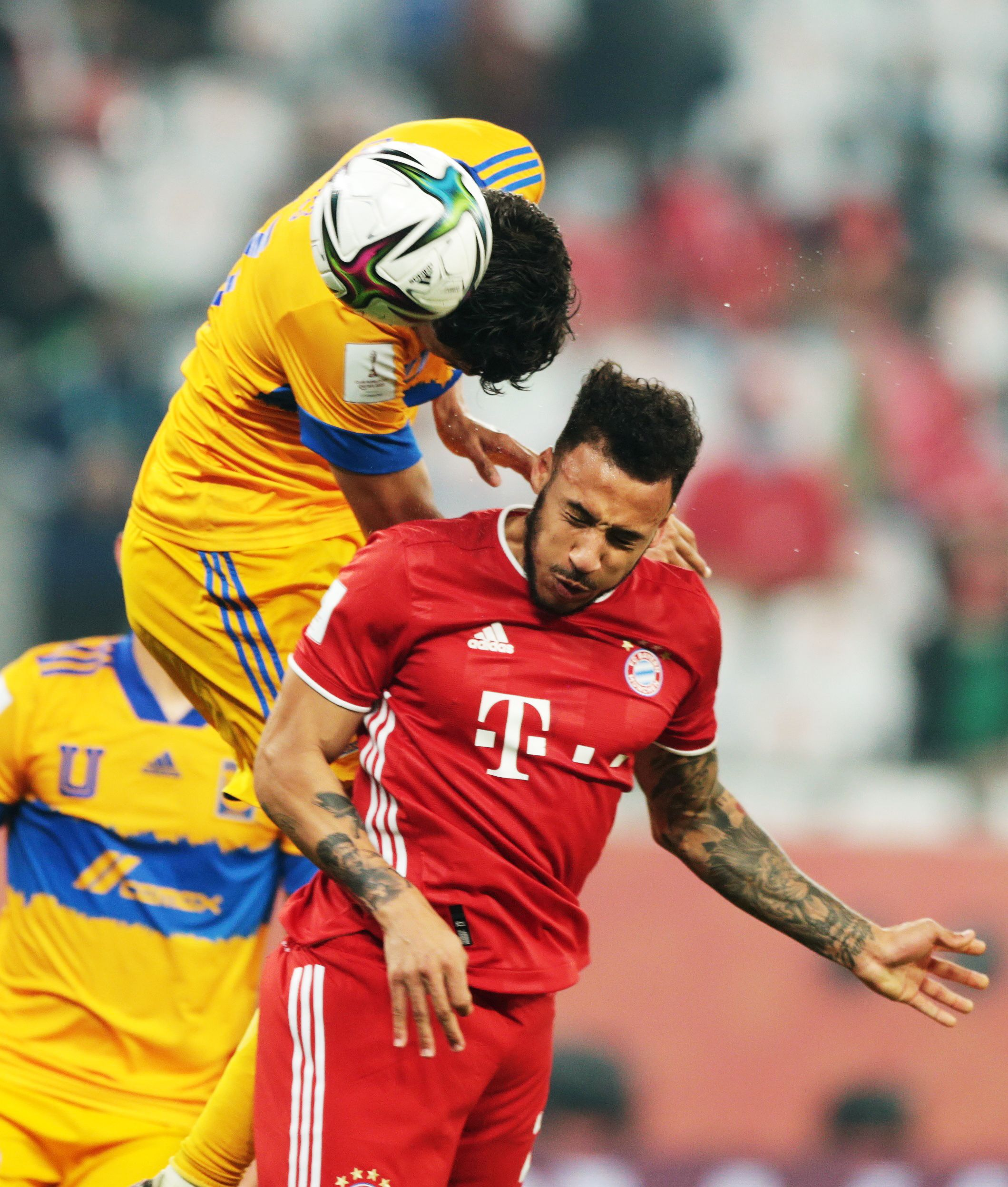 Corentin Tolisso de Bayern Múnich.