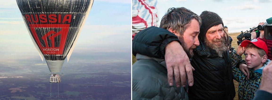 También ha volado por el mundo en un globo aerostático.