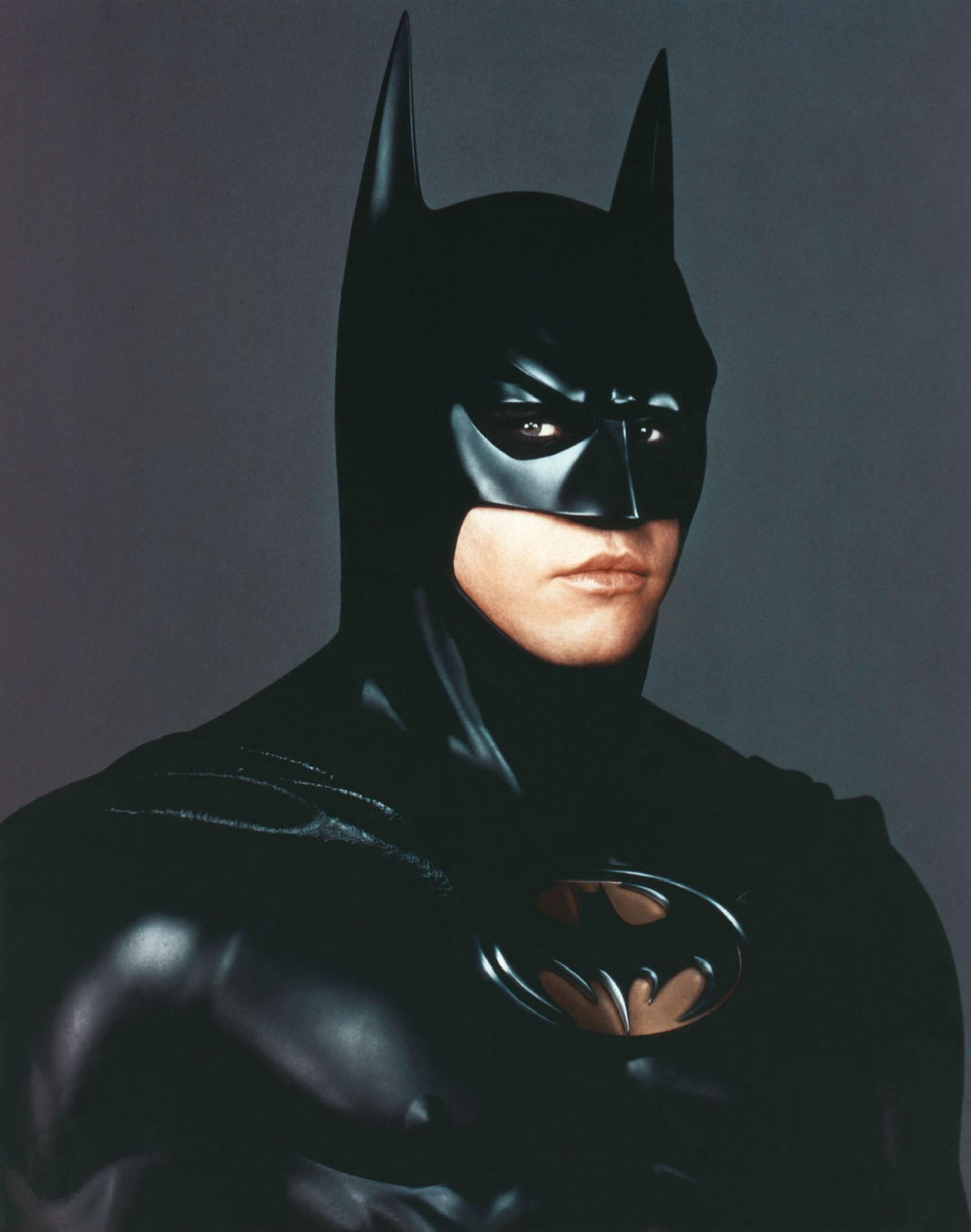 En el traje de Batman