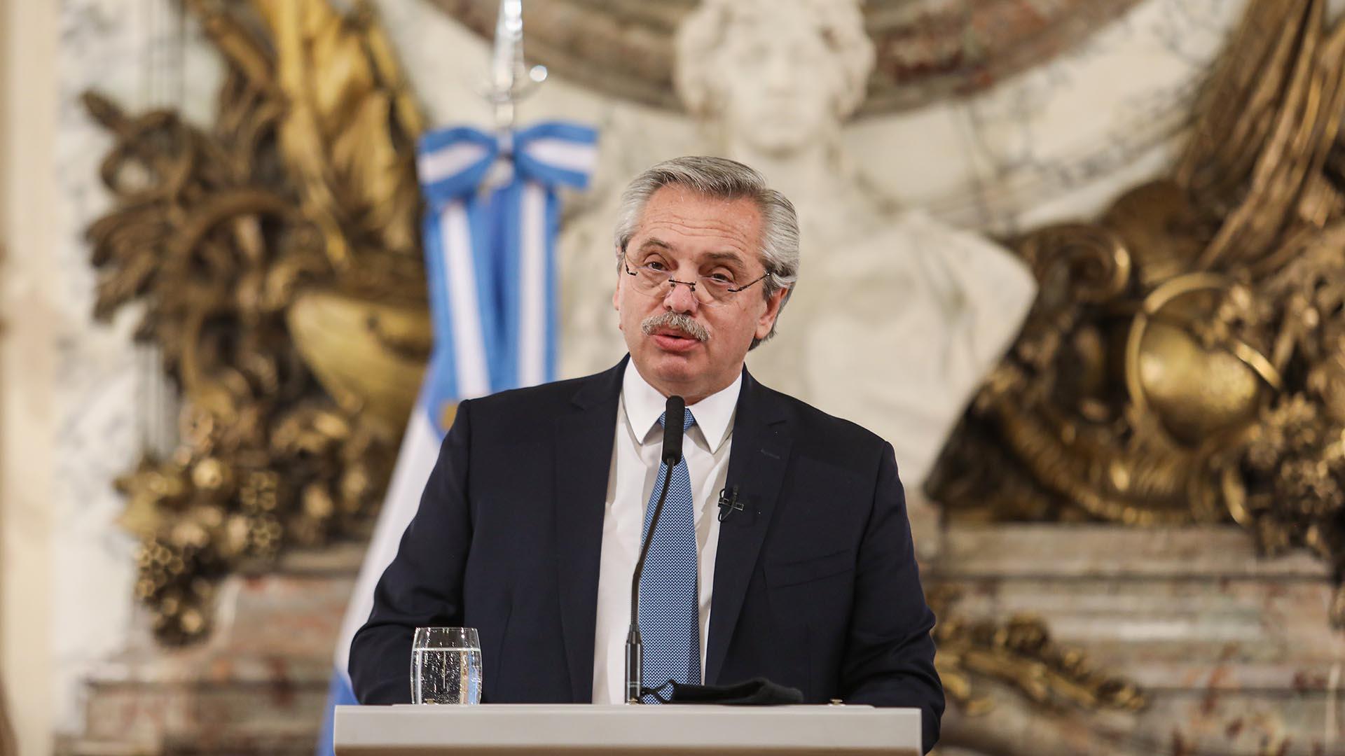 El Presidente presentó el proyecto para la reforma judicial (Presidencia)
