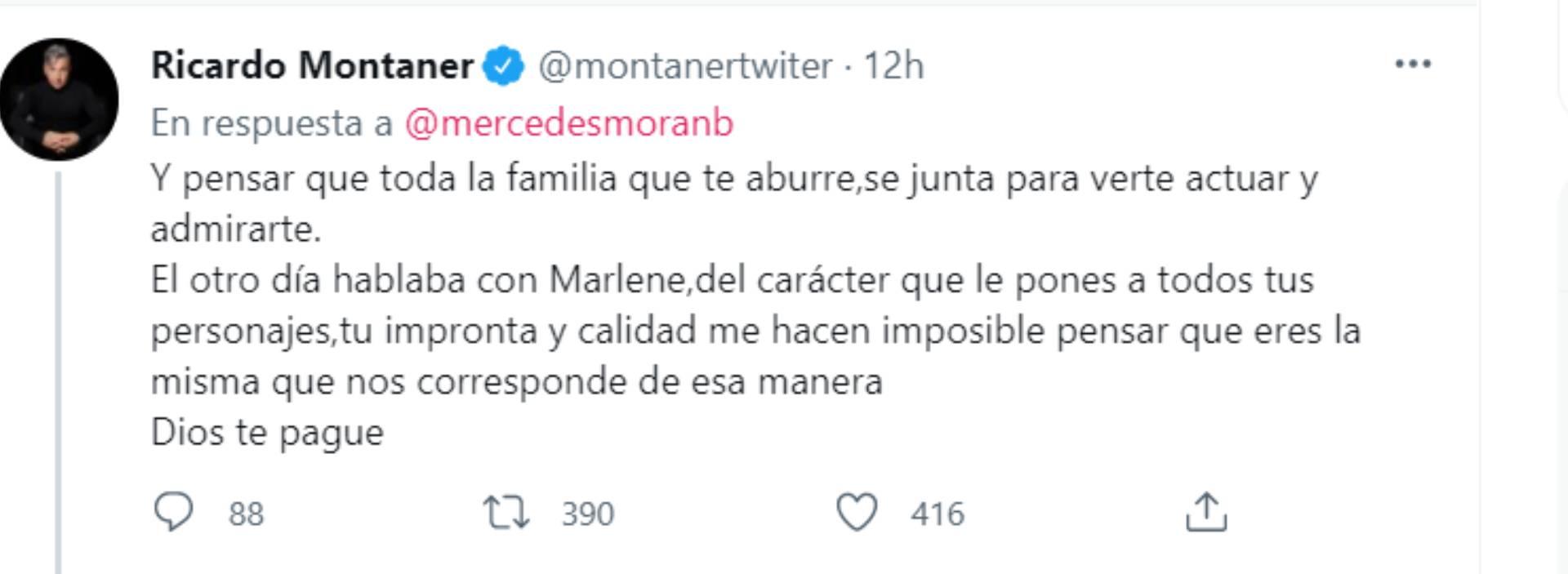 La respuesta de Montaner a Morán