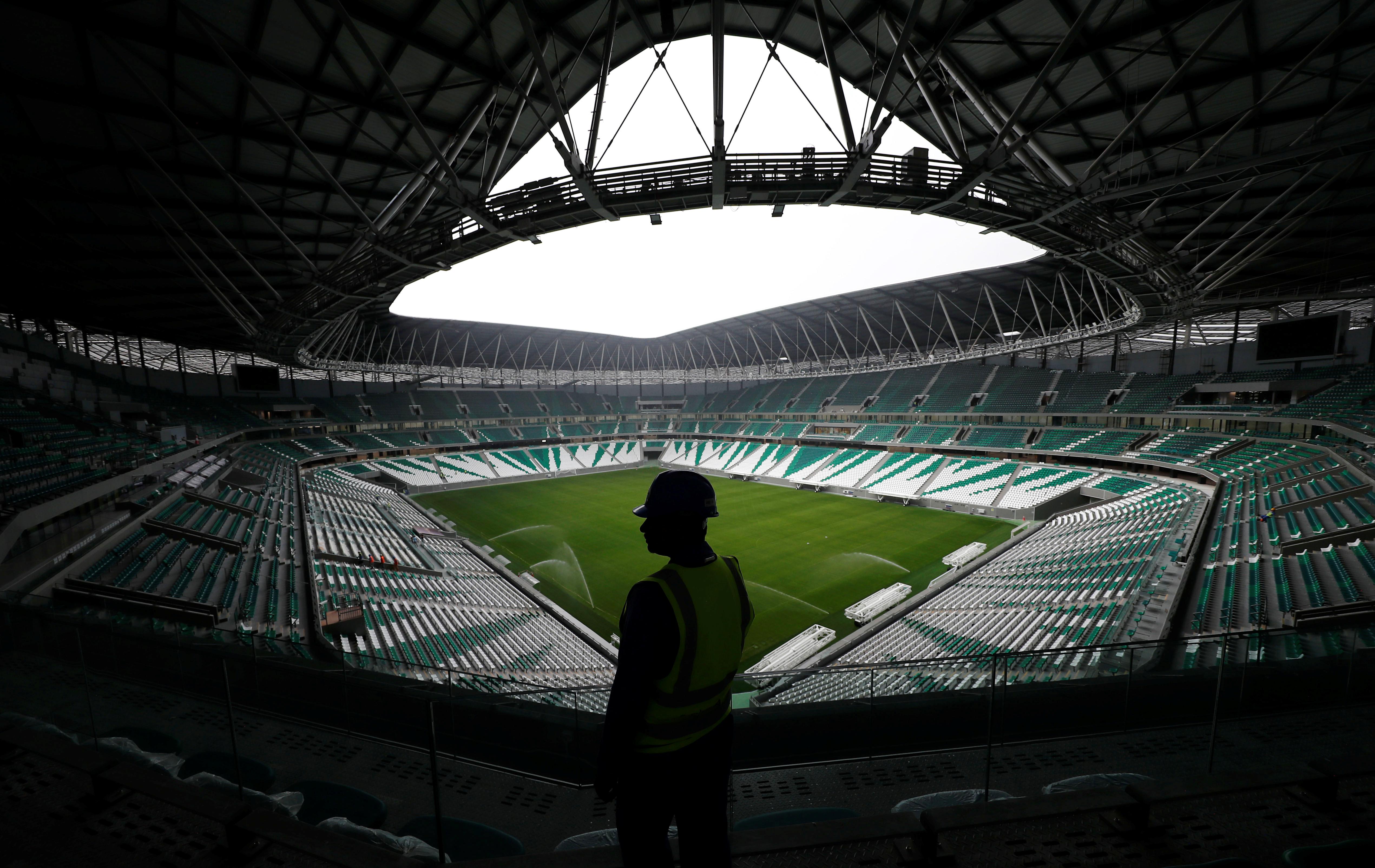 Un estadio con capacidad para 40 mil personas y refrigeración a energía solar será inaugurado el próximo 15 de junio en Qatar, sede de la próxima Copa del Mundo 2022