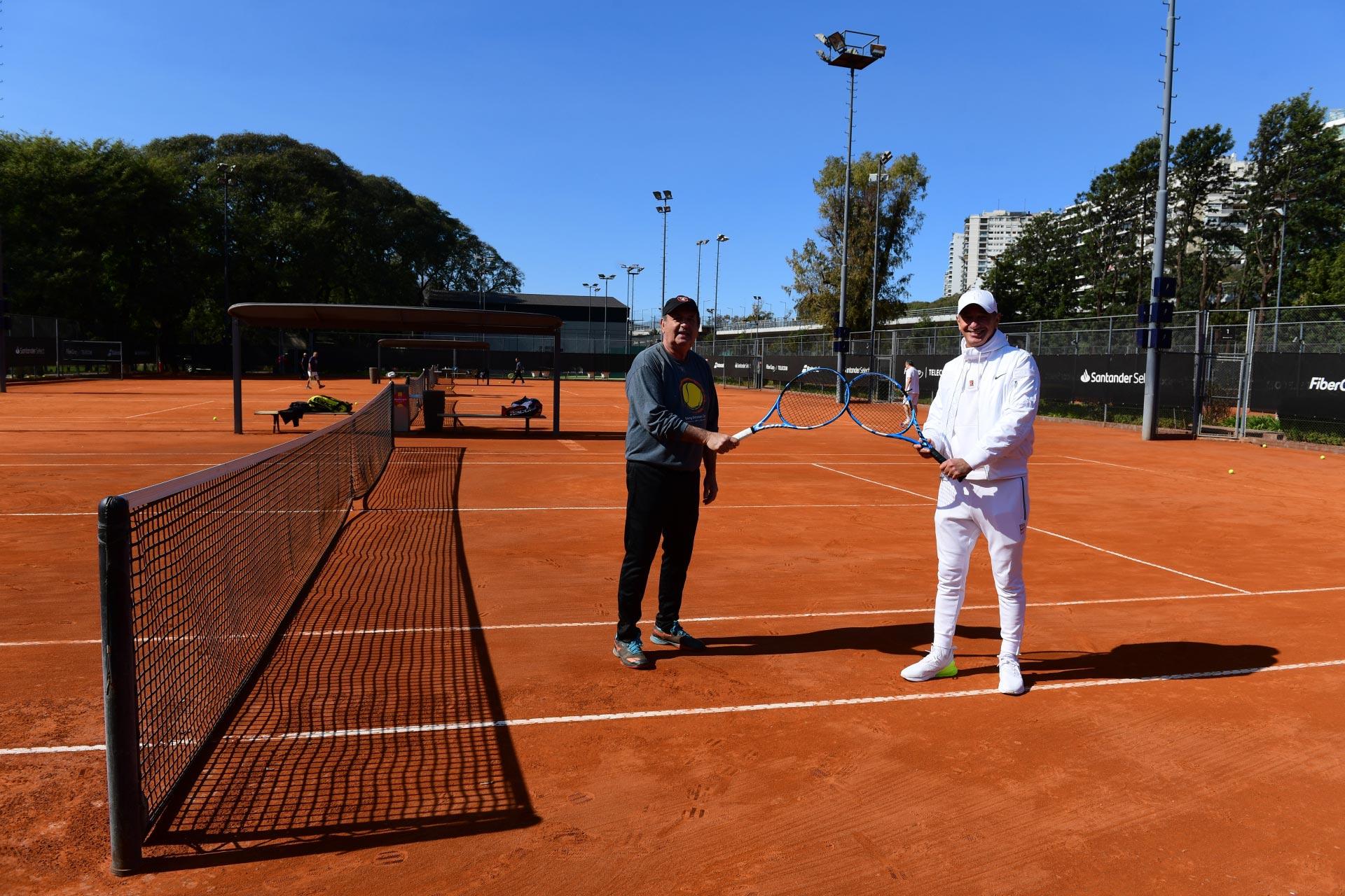 Una imagen del Racket Club. Solo están permitidos los Singles