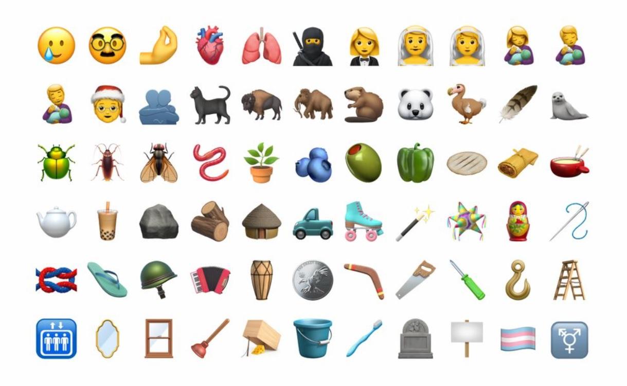 Cuáles Son Los Nuevos Emojis Que Se Verán En Los Iphone Infobae