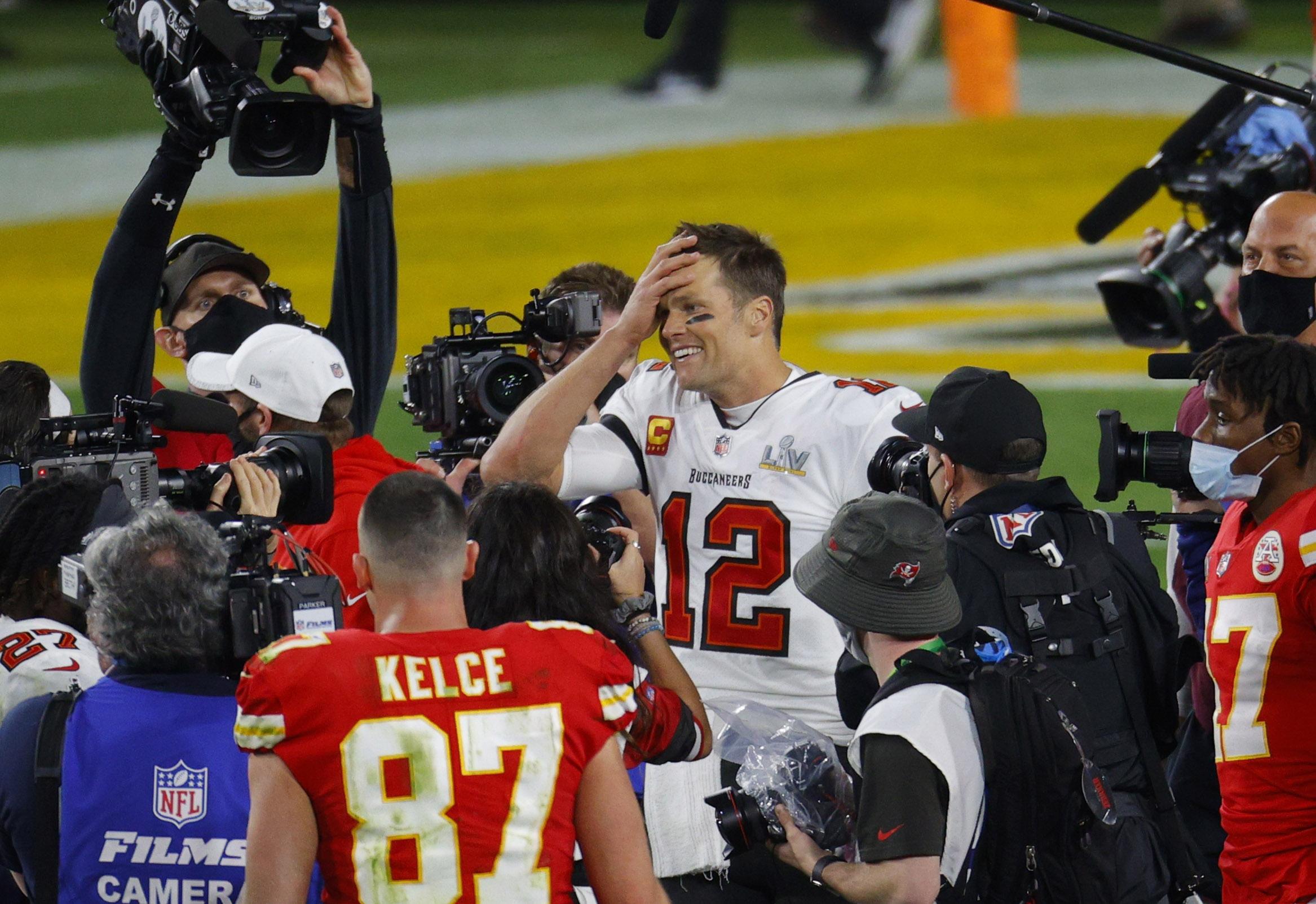 Brady sigue estando a la altura y ya tiene siete anillos de campeón
