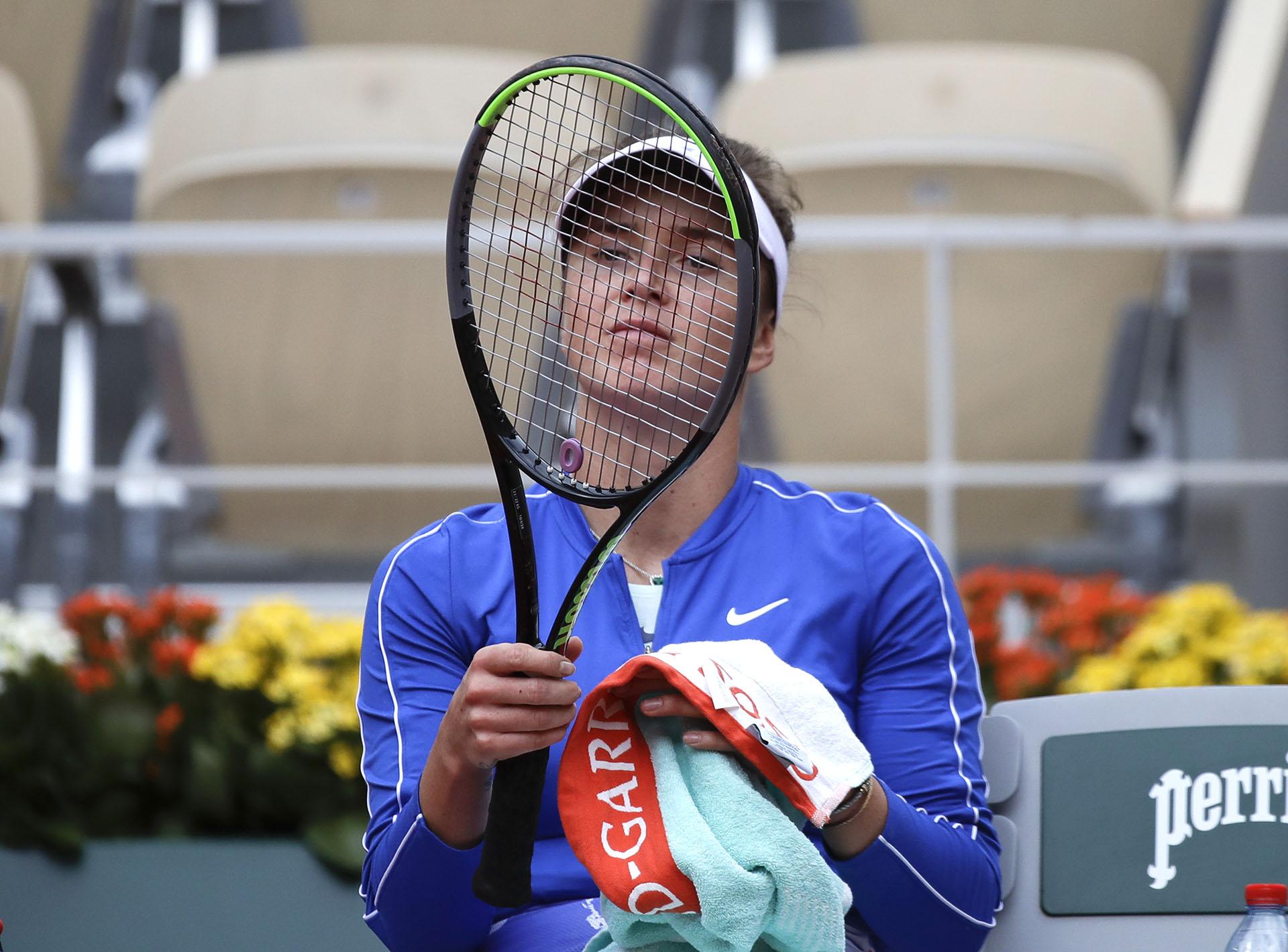 La ucraniana Svitolina es la número 5 del ranking mundial de la WTA (AP Photo/Alessandra Tarantino)
