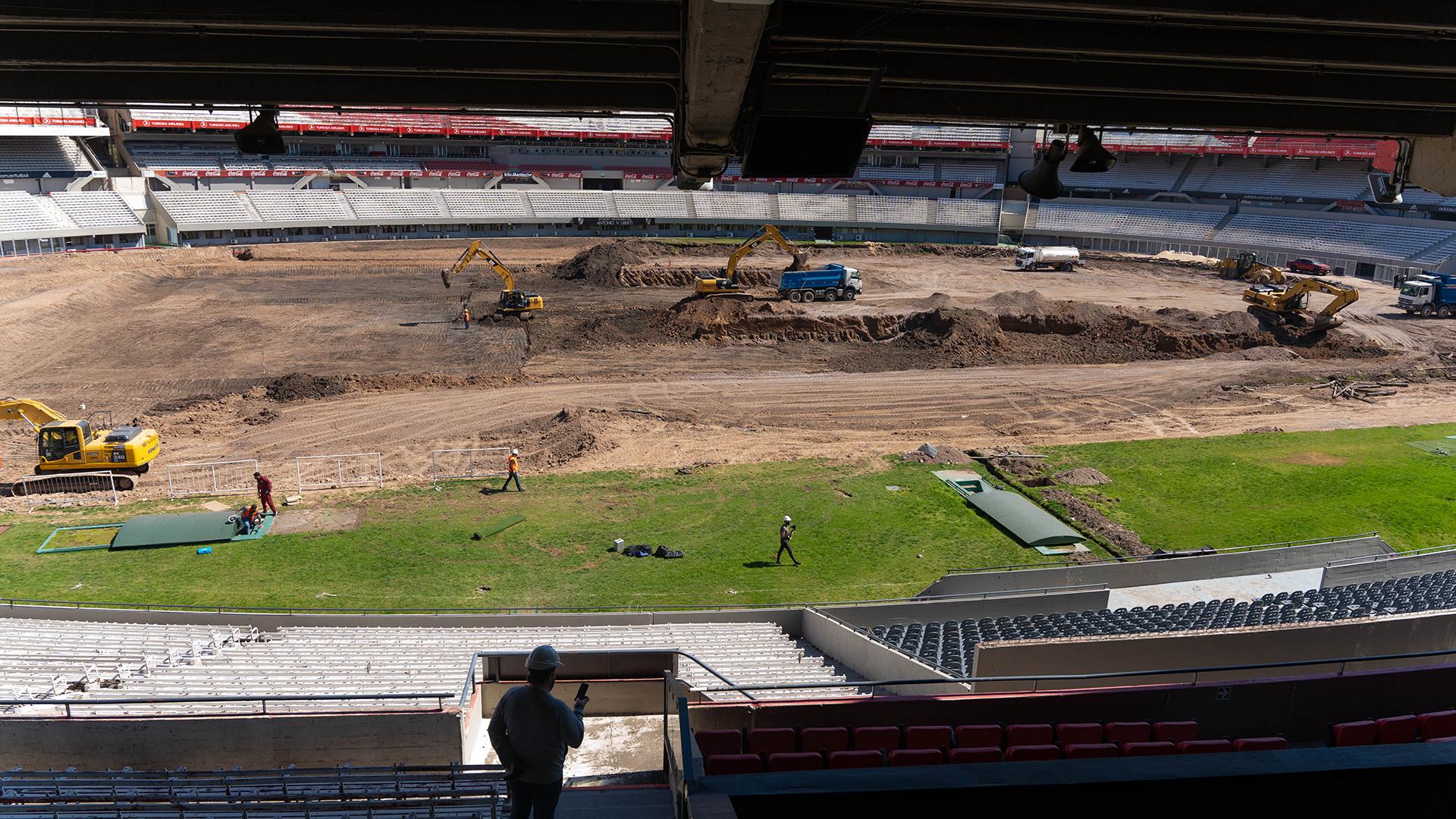 La supresión de la pista –sumada a la creación de un único túnel– abre la posibilidad para que en el futuro se avance en la creación de nuevas tribunas, lo que permitirá aumentar la capacidad de espectadores