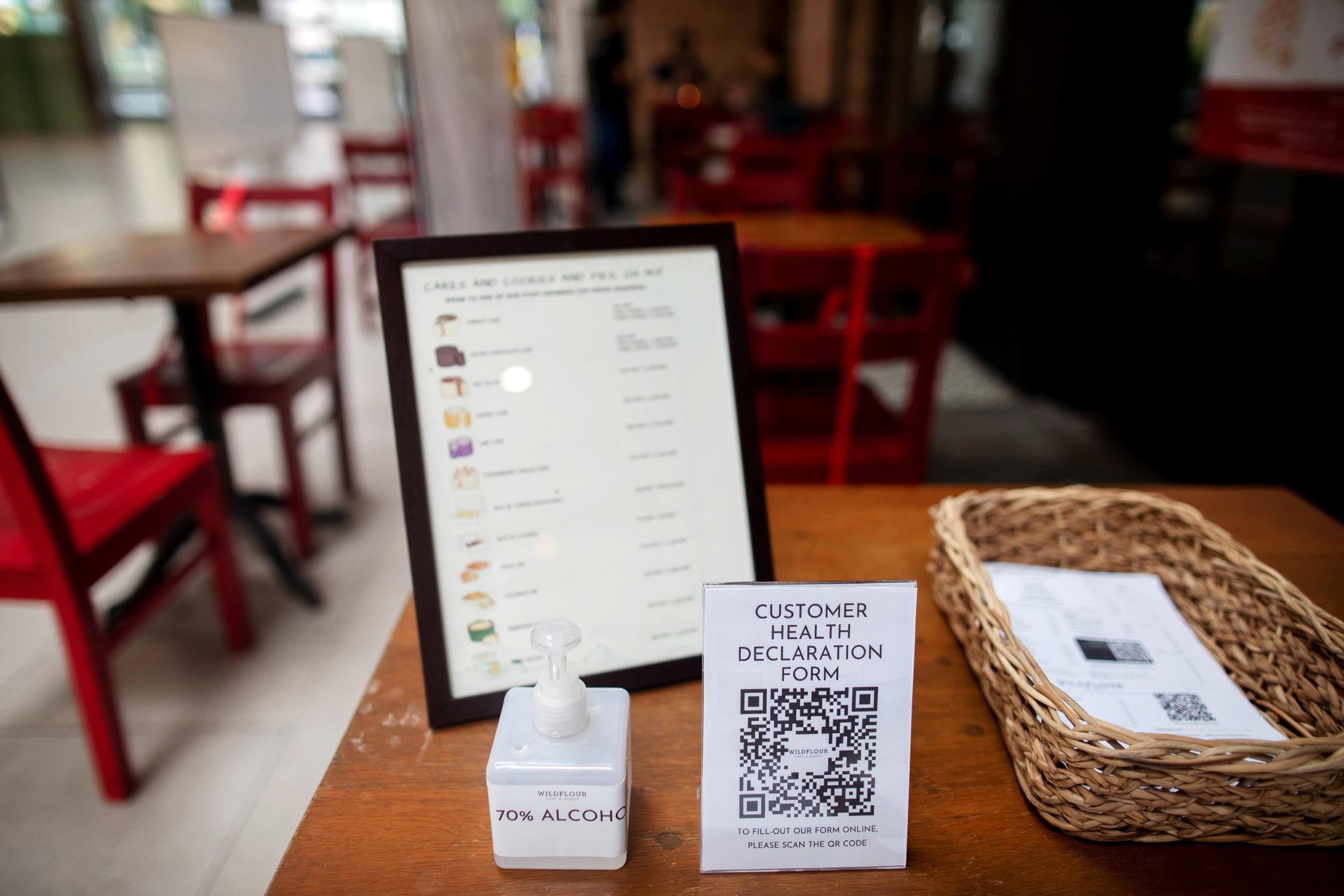 Nueva normalidad: el futuro de la gastronomía será con código QR - Infobae