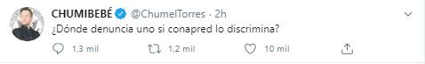 La participación de Chumel Torres ocasionó la cancelación del foro de Conapred (Foto: Twitter@ChumelTorres)