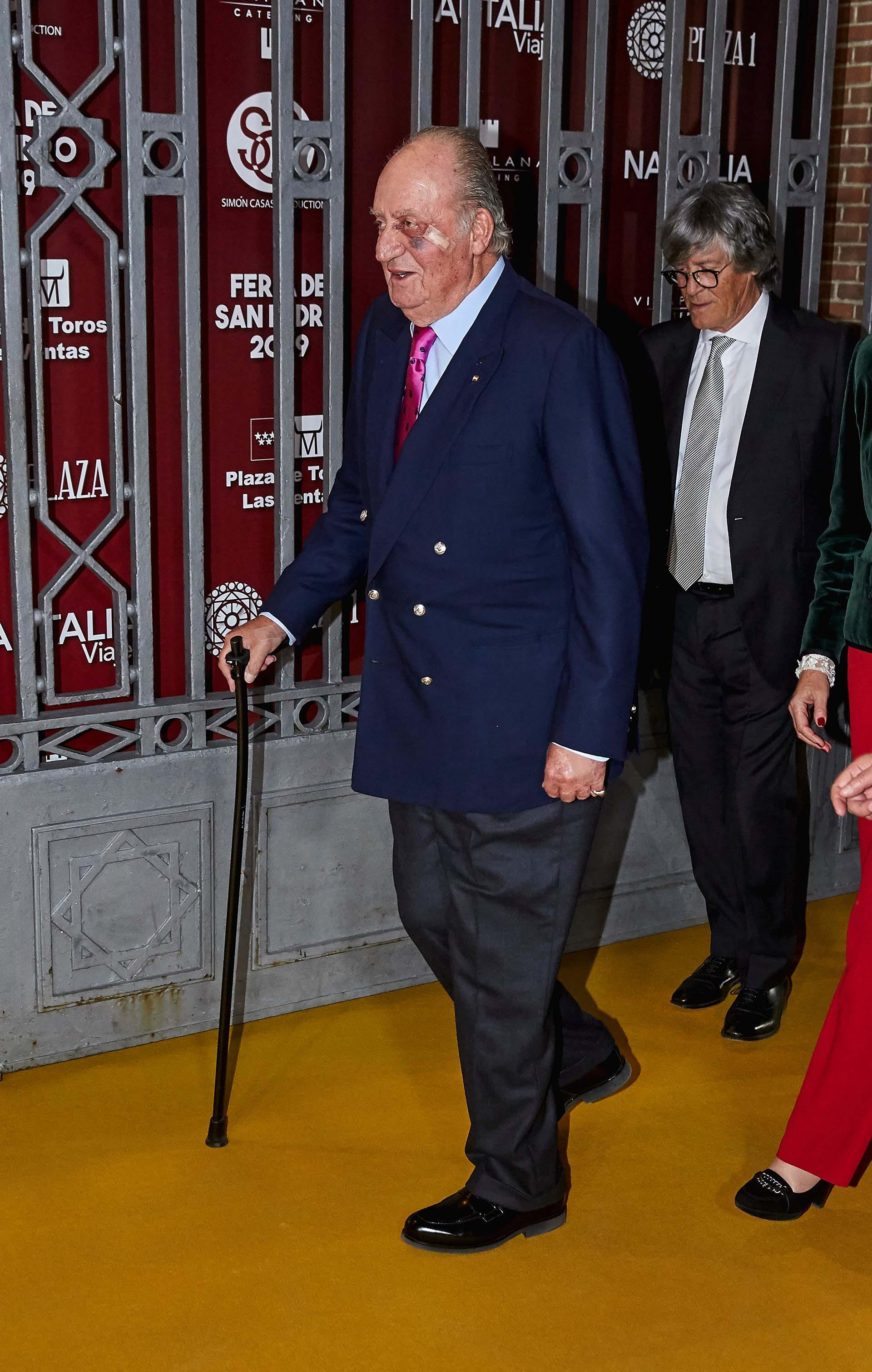 El rey emérito Juan Carlos en Madrid, España en marzo de 2019 (Shutterstock)
