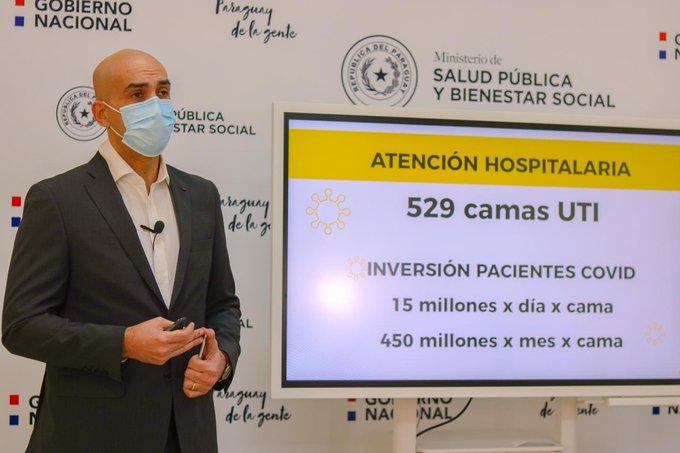 El ministro de Salud adelantó ayer que la cuarentena social se podría alargar, eso es lo que planteó al presidente de la República. (foto: gentileza)