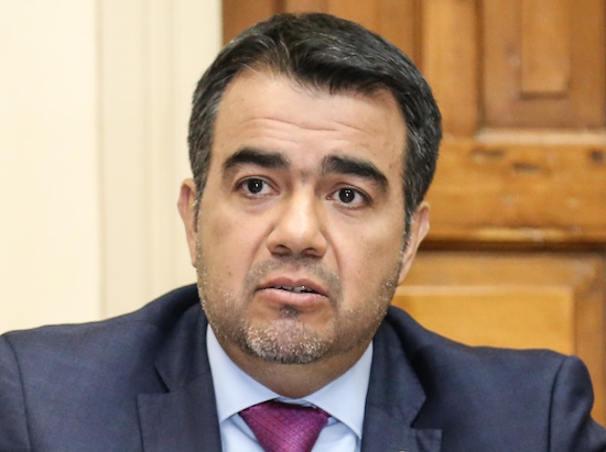 Óscar Llamosas, viceministro de Administración Financiera. Foto: Archivo.